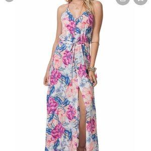 Floral print maxi dress Nordstrom/Ripcurl